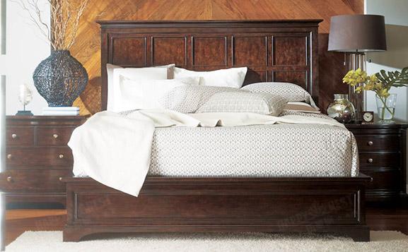 原装进口美式复古双人床