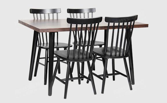 原装进口简约时尚美式餐桌椅