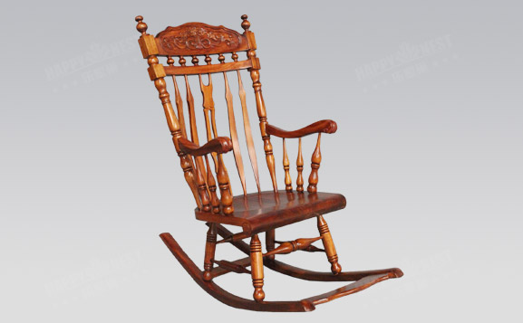 原装进口欧式古典摇椅