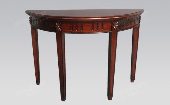 原装进口欧式古典半圆边桌