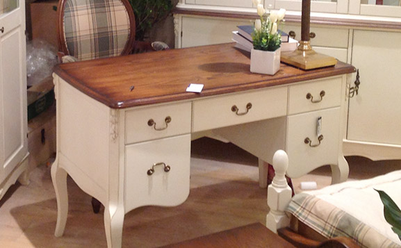 简欧时尚实木书桌