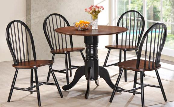 原装进口简约时尚可折叠餐桌椅