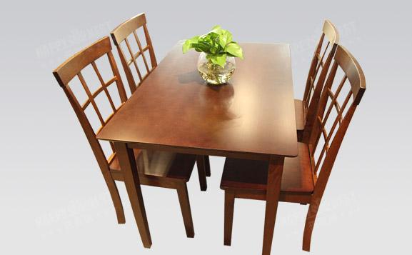 原装进口简约时尚一桌四椅