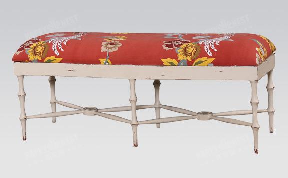 原装进口英式做旧霍恩长凳