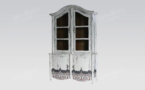 原装进口英式做旧切尔西书柜