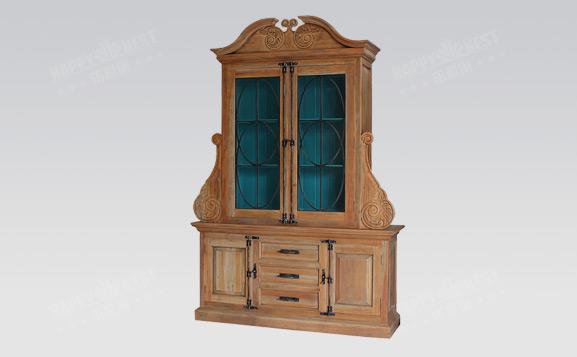 原装进口英式做旧吕克昂展示柜