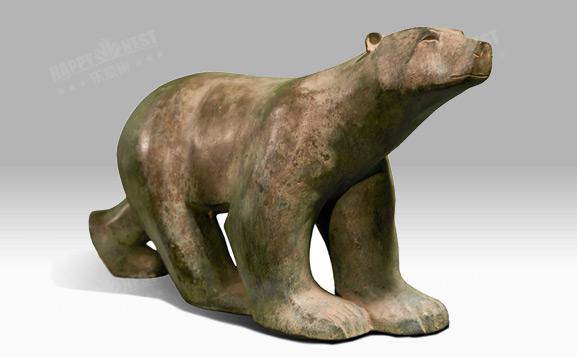 原装进口铜饰-熊