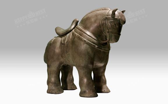 原装进口铜饰-中国马
