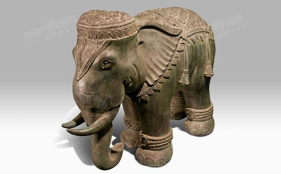原装进口铜饰-泰国皇家象
