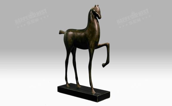 原装进口铜饰-站立马