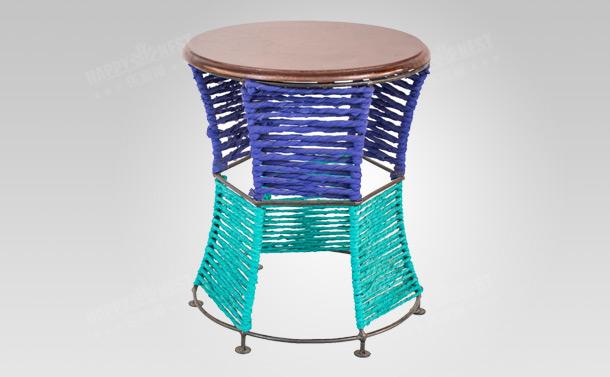 印度原装进口时尚个性圆凳