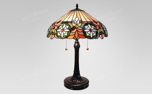 欧式复古奢华大气台灯